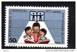 Sénégal N° 372  XX  Année Internationale Du Livre Sans Charnière, TB - Senegal (1960-...)