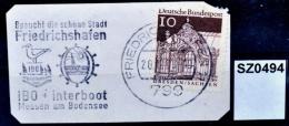 SZ0494 IBO + Interboot, Messen Am Bodensee, 790 Friedrichshafen DE 1968 - BRD
