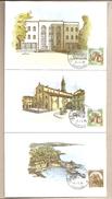 Italia - 13 Cartoline Con Annullo Speciale: Acquarelli Dai Quali Sono Stati Tratti Gli Annulli Postali - 1985 - Cartoline Maximum