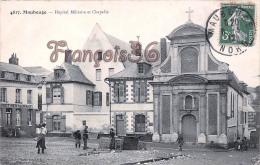 (59) Maubeuge - Hôpital Militaire Et Chapelle - 2 SCANS - Maubeuge