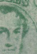 N° 13 B  ( X ) Impression Floue Et Huileuse Recto Verso  Sans Gomme - 1863-1864 Médaillons (13/16)