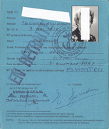 CARTE DE RETRAITE -MINISTERE DE LA DEFENSE -RF -toulon Var 1982 - Sin Clasificación