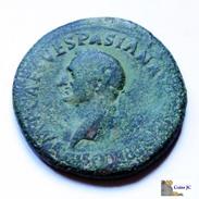 Roma - VESPASIANO - Sestercio - 69/79 DC. - 2. Die Flavische Dynastie (69 / 96)