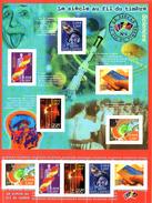 France. Bloc No 39 Le Siecle Au Fil Du Timbre. Annee 2001 N** - Nuovi