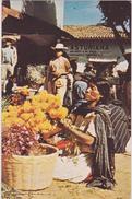 AMERIQUE,MEXIQUE,MEXICANOS,MEXICO,Marché,metier,vendeur De Fleurs - Mexique