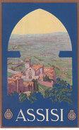 Assisi - Cartlina Pubblicitaria - Firmata      (A25-140818) - Autres Villes