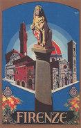 Firenze - Cartlina Pubblicitaria - Firmata      (A25-140818) - Firenze (Florence)