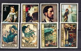 ESPAÑA  1974.EDIFIL Nº 2203/2210. PINTORES: EDUARDO ROSALES  NUEVOS SIN CHARNELA . SES495GRANDE - 1931-Hoy: 2ª República - ... Juan Carlos I