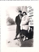 COL DU LAUTARET ET COL DU GALIBIER   COUPLE  ANNEE 1940.50 ENVIRON - Lieux