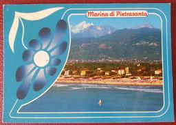 MARINA DI PIETRASANTA (LUCCA) - PANORAMA - SPIAGGIA - Lucca
