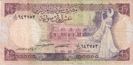 SYRIE   10 Pounds   1982   P. 101c - Syrie