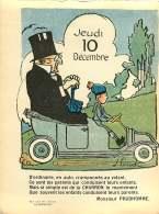 030317 - Feuille Extraite De L'ALBUM REVUE Des OPINIONS CALENDRIER 1914 éphéméride - Auto CHARRON SOLEX  MICH - Old Paper