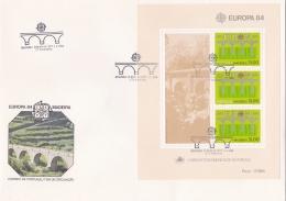 Madeira 1984 Souvenir Sheet FDC Europa CEPT (LAR3-B4) - 1984