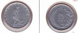AC - TURKEY  2.5 LIRA - TL 1980 COIN UNCIRCULATED - Key Chains