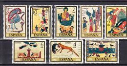ESPAÑA  1974.EDIFIL Nº2284/2291 CODICES  NUEVOS SIN CHARNELA . SES495GRANDE - 1931-Hoy: 2ª República - ... Juan Carlos I