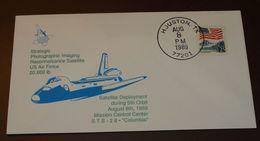 Space   USA STS 28 Columbia  1989  #cover3519 - Briefe U. Dokumente