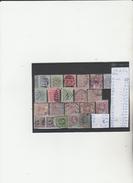 TIMBRES DE COTE DE L OR ANGLAISE  OBLITEREES  NR VOIR SUR PAPIER ACCOMPAGNANT LES TIMBRES  COTE  91.35€ - Briefmarken