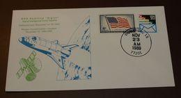 Space  USA Houston  DOD Satellite  Sigint     1990   #cover3527 - Brieven & Documenten