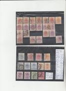 TIMBRES DE ORANGE   OBLITEREES NEUF * NR VOIR SUR PAPIER ACCOMPAGNANT LES TIMBRES  COTE  49.90€ - Postzegels