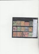 TIMBRES DE L INDE NEERLANDAISE    OBLITEREES NEUF * NR VOIR SUR PAPIER ACCOMPAGNANT LES TIMBRES  COTE  56.65€ - Inde