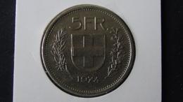 Switzerland - 1974 - 5 Franken - KM 40a - VF - Look Scans - Schweiz