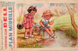 Lot De 7 Buvards  Chewing Gum BELL Et Flan MIREILLE  Buvard N°16-42-44-46-47-52-64 - Lots & Serien