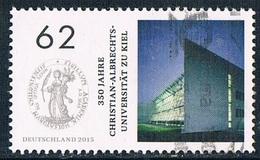 2015  350 Jahre Christian Albrechts Universität, Kiel  (gezähnt)