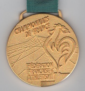Médaille Athlétisme : Championnats De France FFA : Fédération Française D'Athlétisme - France