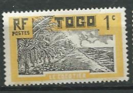 Togo   - Yvert N° 124  *     - Abc 20224 - Unused Stamps