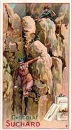 12 Cards 1895 Rare ALPINISME Pub Chocolate  Suchard Serie Complet Litho Climb Mountains SPORTmontagne Zwitserland VG - Suchard