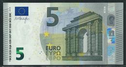 T IRELAND  5 EURO TC T001 J6  LAST POSITION  DRAGHI  UNC - EURO