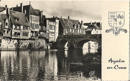 CPSM Argenton-sur-Creuse Le Vieux Pont Et La Creuse - France