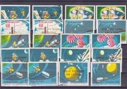 HAITI : Apollo XIII :  Y&T :lot De 30 Timbres Oblitérés - Haïti