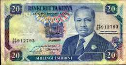 KENYA 20 SHILLINGS Du 2-1-1992  Pick 25c - Kenya