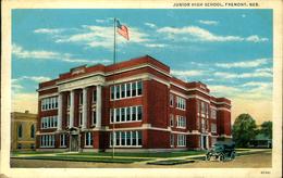 N°2936 QQQ 55  JUNIOR HIGH SCHOOL FREMONT NEB TEICH AND CO CHICAGO - Fremont