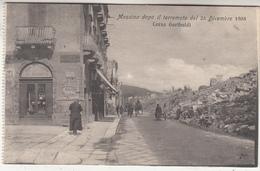 Messina Dopo Il Terremoto Del 28 Dicembre 1908 - Corso Garibaldi - Commerce - Ed. Santi Micali, Messina 362 - Disasters