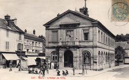CPA MERU - L'HOTEL DE VILLE - Meru