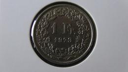 Switzerland - 1973 - 1 Franken - KM 24a - VF - Look Scans - Suisse