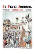 POLITIQUE INDE  CAMPAGNE DE DESOBEISANCE  CIVILE AUX INDES LE PETIT JOURNAL ILLUSTRE PRESSE  1930 KHARBINE TAPABOR - Events