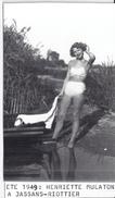 JASSANS-RIOTTIER   ETE 1949 PIN UP   12X7CM - Lieux