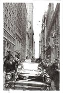 POLITIQUE ETATS-UNIS  KENNEDY J F EN CAMPAGNE ELECTORALE A NEW-YORK 1960  AUTOMOBILE CORNELL CAPA MAGNUM JACKIE KENNEDY - People
