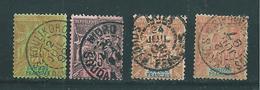 Colonies Timbres Du Soudan De 1894  N°9 A 12  Oblitérés  (cote 155€) - Usati