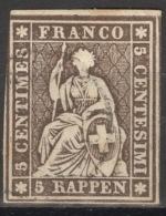 Schweiz 13II O Altsignatur Franz - Oblitérés