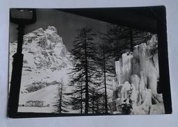 CERVINIA- BREUIL - VEDUTA DAL SALONE DEL GRAND HOTEL CERVINIA (7208) - Aosta