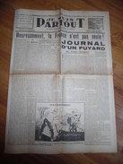 """Journal Collaboration """"je Suis Partout"""" 9 Juin 1944, Journal D'un Fuyard, Milice, PPF - 1939-45"""