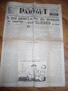 """Journal Collaboration """"je Suis Partout"""" 7 Avril 1944, Fin Du Maquis Des Glières  Milice, PPF - 1939-45"""