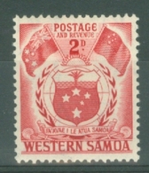 Samoa: 1952   Pictorial   SG221   2d    MH - Samoa