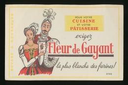 Buvard -  GAYANT - La Plus Blanche Des  Farines - Buvards, Protège-cahiers Illustrés