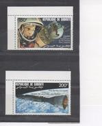 DJIBOUTI -Espace - Conquêtes Royales : 25 Ans Du 1er Homme Dans L'espace, Gemini VIII-fusée Agéna (20 Ans) - Gibuti (1977-...)