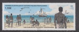 TAAF 2017 - YT 814 Les Oubliés De Tromelin - îles Eparses - Terres Australes Et Antarctiques Françaises (TAAF)
